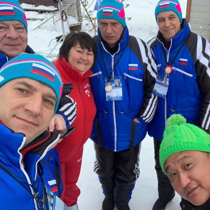 """Съемки фильма """"Белый снег"""" о знаменитой лыжнице из Магадана Елене Вяльбе движутся к финалу"""